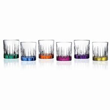 Timeless RCR Crystal Shot Glasses (Set of 6)