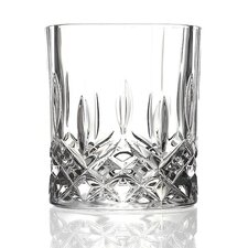 <strong>Lorren Home Trends</strong> RCR Opera Crystal Double Old Fashion Glass (Set of 6)