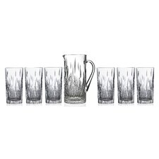 RCR Fire 7 Piece Ice Tea/Beverage Glass Set