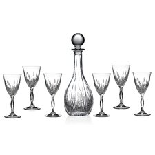 RCR Fire 7 Piece Liquor Cordial Glass Set