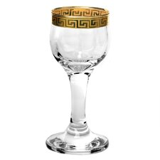 Florence Liquor Goblet Cordial Glass (Set of 4)