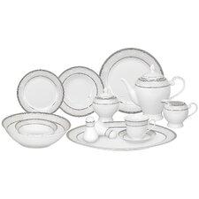 Casa Lorren Ballo 57 Piece Porcelain Dinnerware Set