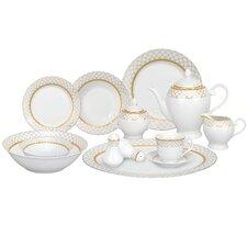 Casa Lorren Beatrice 57 Piece Porcelain Dinnerware Set