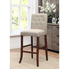 Tufted Parson Bar Stool