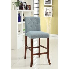 <strong>Kinfine</strong> Tufted Parson Bar Stool with Cushion