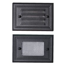 Flush Mount Deck Light 2 Face Plate