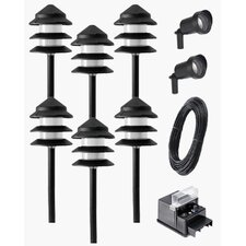 <strong>Paradise Garden Lighting</strong> Path Light Kit (Pack of 8)