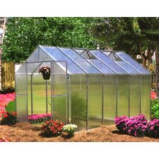 "Monticello 7' 6"" H  x 8.0' W x 20.0' D Quick Assembly Polycarbonate 8 mm Greenhouse"