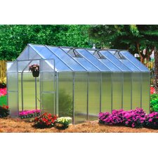 Monticello 8 x 16 ft. Quick Assembly Polycarbonate Greenhouse