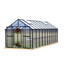 Monticello 8 x 20 ft. Premium Polycarbonate Commercial Greenhouse