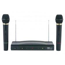 Naxa Professional Wireless Karaoke 2 Microphone System