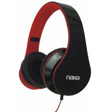 "Naxa 0.14"" Stereo Over-Ear Plug Pro Headphone"