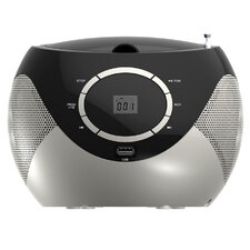 Naxa Portable Mini MP3/CD Boombox with AM/FM Radio and USB Player