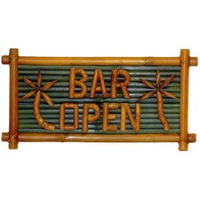 <strong>Bamboo54</strong> Bar Open Garden Sign