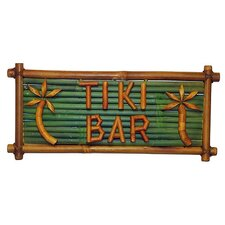<strong>Bamboo54</strong> Natural Bamboo Tiki Bar Sign