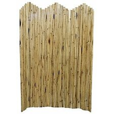 "63"" x 50"" Natual Bamboo Flexible Room Divider"