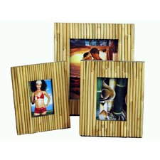 Bamboo Fence Picture Frame