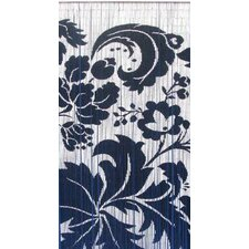 Natural Bamboo Floras Curtain Panel