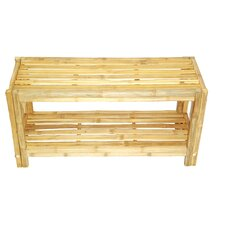 Natural Bamboo Shoe Rack