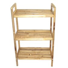 "<strong>Bamboo54</strong> Natural Bamboo 23.5"" x 38"" Bathroom Shelf"