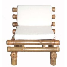 Bamboo Payang Fabric Side Chair