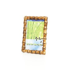 Bamboo Picture Frame in Root Natural