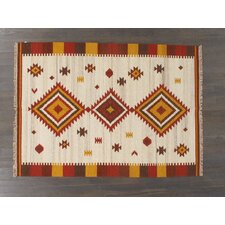 Turkish Kilim All Over Geometric Rug