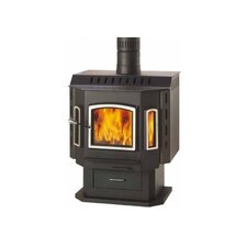 <strong>Drolet</strong> Sahara 2,000 Square Foot Wood Stove on Pedestal