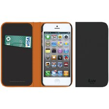 <strong>iLuv</strong> Leather Diary iPhone 5 Case