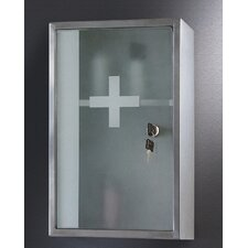 "9.88"" x 15.75"" Surface Mount Medicine Cabinet"