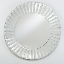 "Radiance 24"" H x 24"" W Wall Mirror"