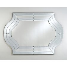 "Radiance 29"" X 47"" Cut Glass Wall Mirror"