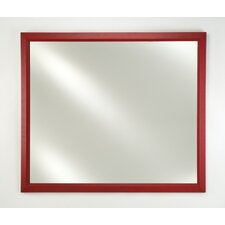 Signature Recessed Mount Plain Mirror