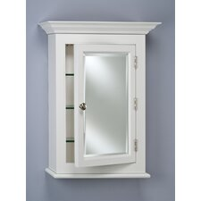 "Wilshire I 25.75"" x 30.13"" Surface Mount Medicine Cabinet"