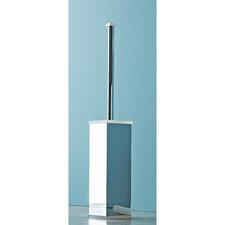 Free Standing Chrome Toilet Brush Holder