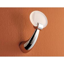 Clothes Hook with Chrome Mount