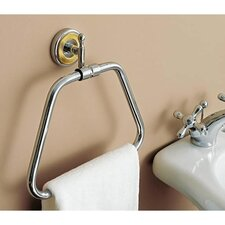 Queen Wall Mounted Bell Towel Ring