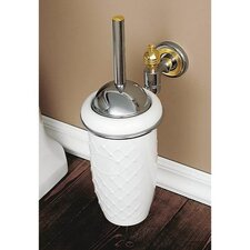<strong>Toscanaluce by Nameeks</strong> Wall Mounted Ceramic Toilet Brush Holder