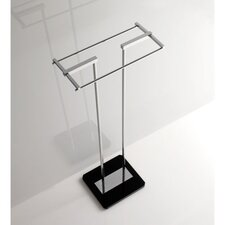 Towel Stand with Plexiglass Base