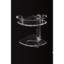 <strong>Toscanaluce by Nameeks</strong> Tiered Shower Corner Tray