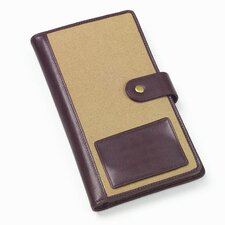 <strong>Clava Leather</strong> Canvas Golf Score Card Organizer