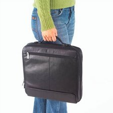 Quinley Professional Leather Laptop Briefcase