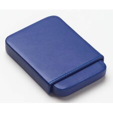 Bridle Business Card Slide Case in Blue