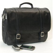 <strong>Clava Leather</strong> Tuscan Executive Laptop Briefcase