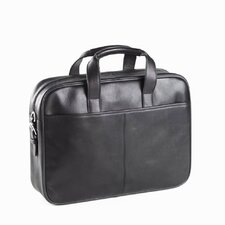 Tuscan Top Handle Briefcase in Black
