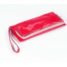 Wellie Foldover Clutch in Red