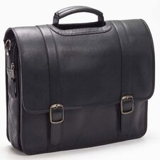 <strong>Clava Leather</strong> Vachetta Executive Leather Laptop Briefcase