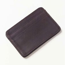 Quinley Two Pocket Cardcase Wallet  in Café