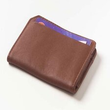 Quinley Front ID Card Wallet in Tan