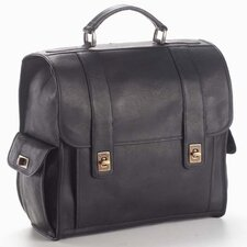 <strong>Clava Leather</strong> Vachetta Turnlock Backpack